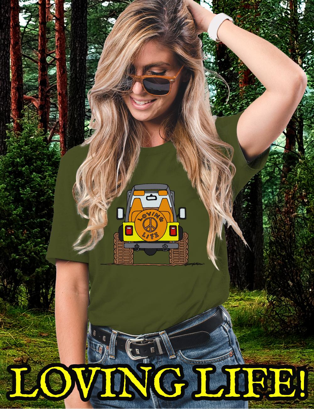 Offroad 4×4 LOVING LIFE T-Shirt