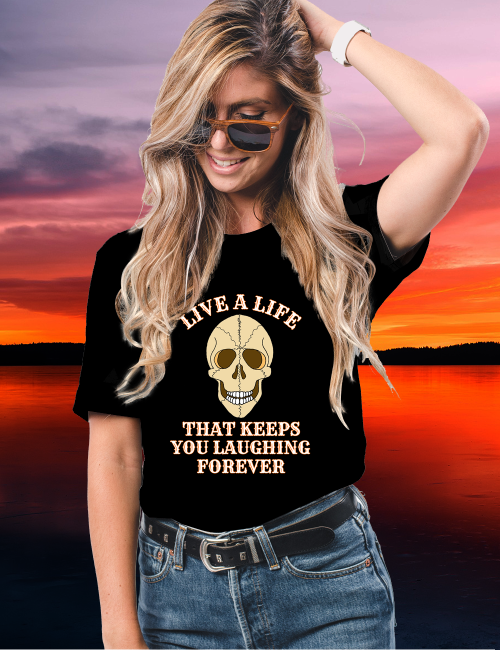 Laughing Skull LIVE A LIFE
