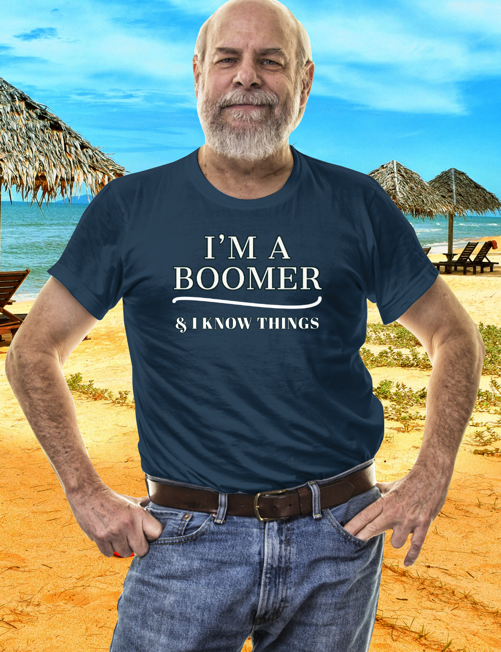 Boomer Shirt I'M A BOOMER & I KNOW THINGS