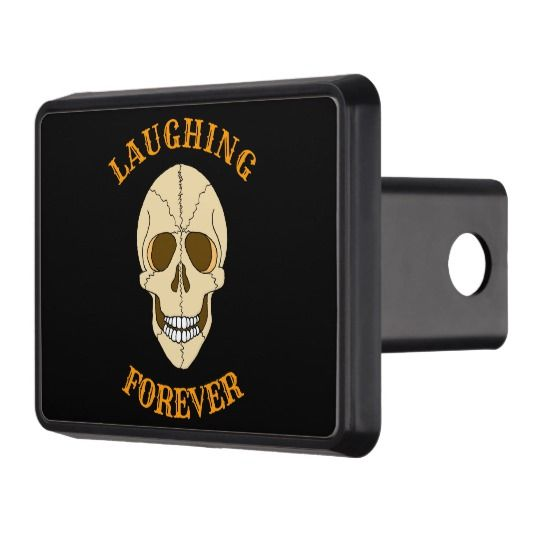 ScottyGaaDo LAUGHING FOREVER Skull Hitch Cover