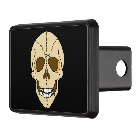 ScottyGaaDo LAUGHING SKULL Hitch Cover