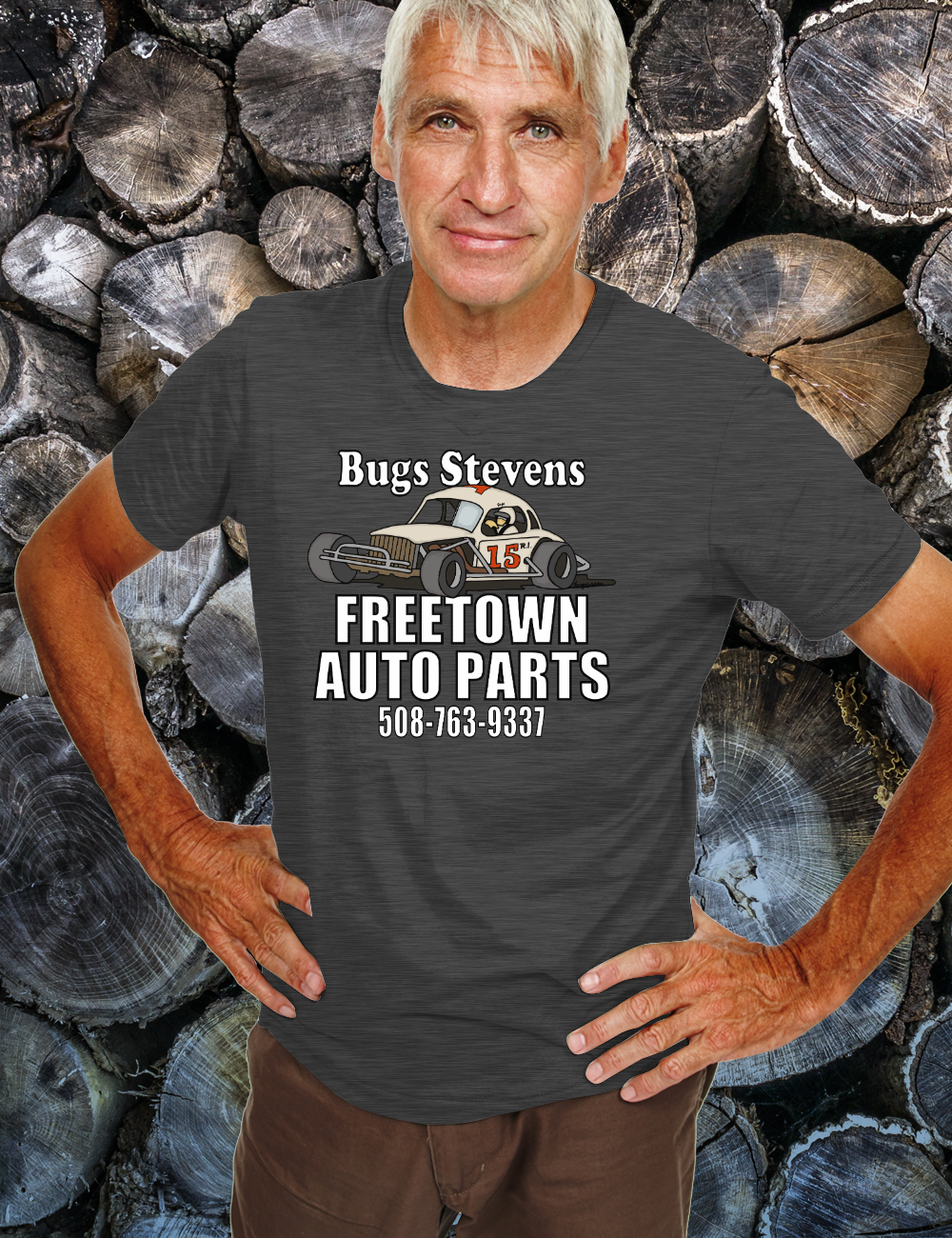 BUGS STEVENS FREETOWN AUTO PARTS  Tshirt