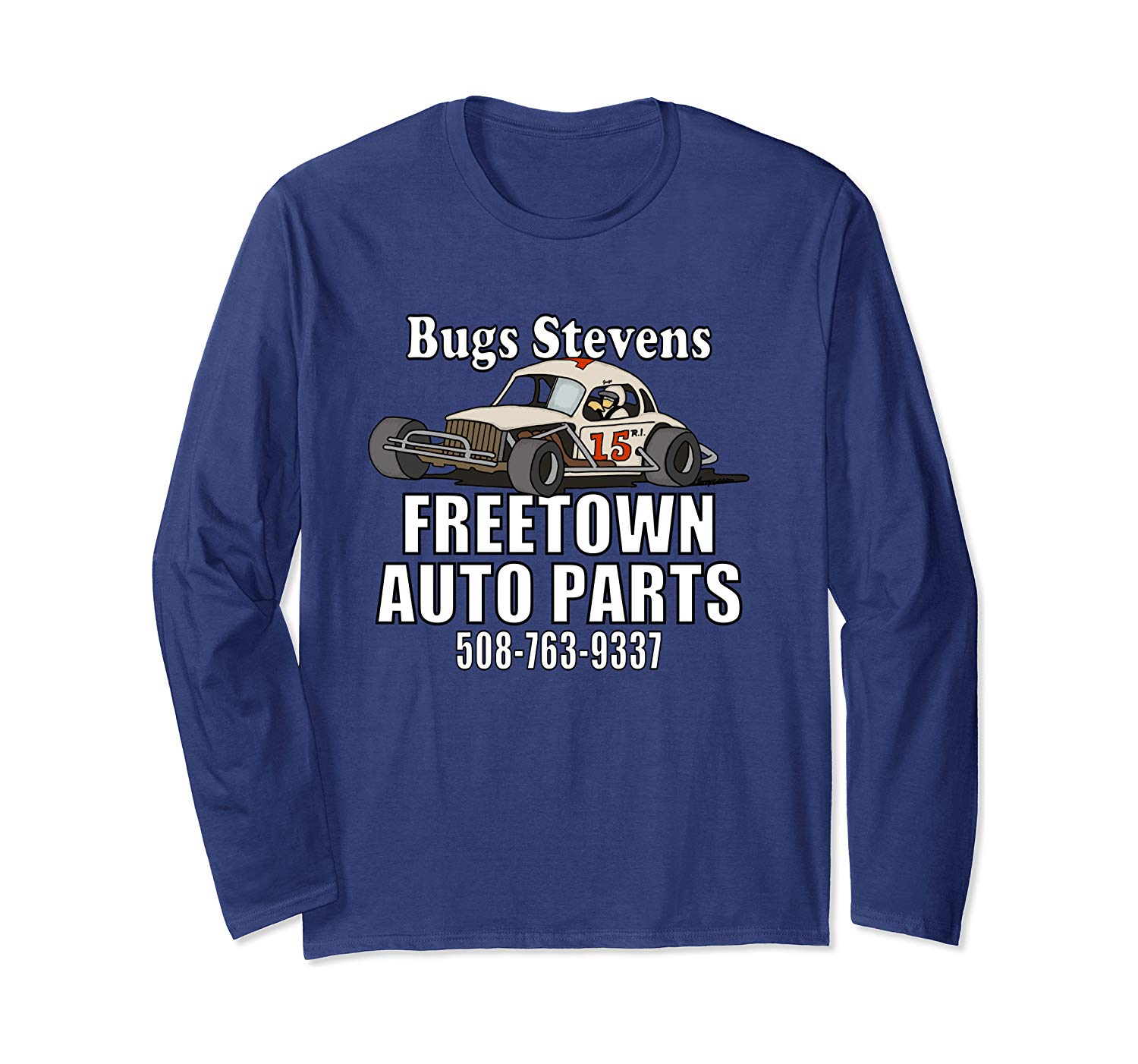 BUGS STEVENS FREETOWN AUTO PARTS   Long Sleeve T