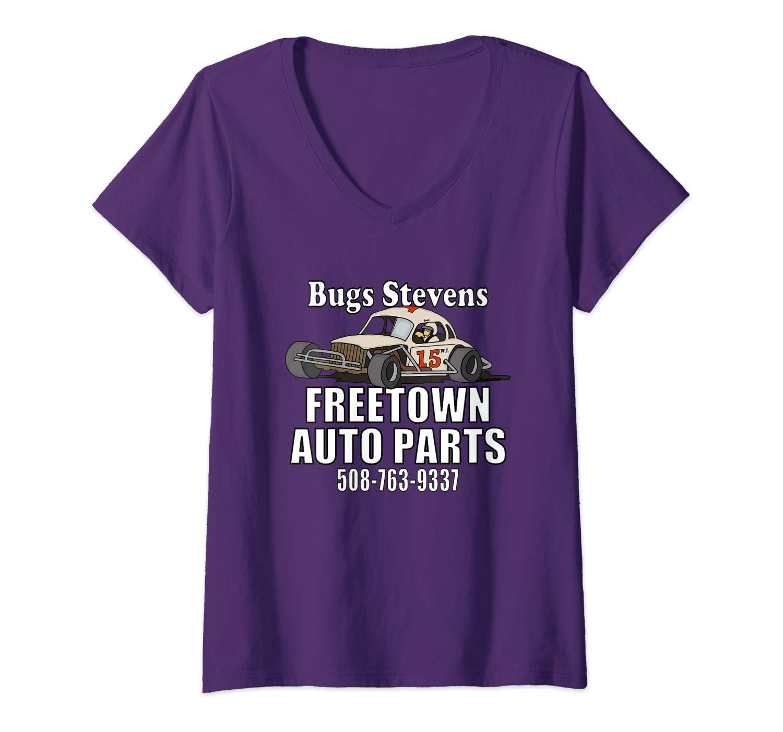BUGS STEVENS FREETOWN AUTO PARTS  Vneck