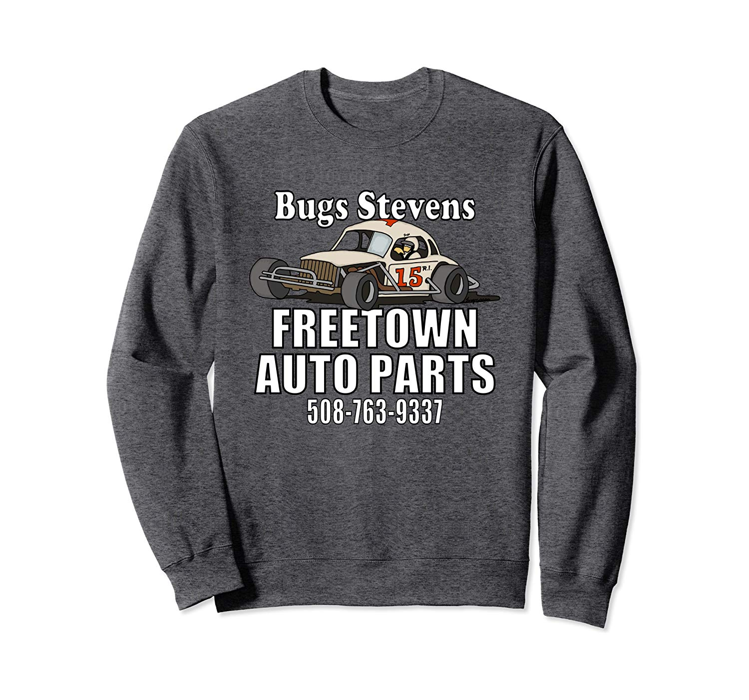 BUGS STEVENS FREETOWN AUTO PARTS  Sweatshirt