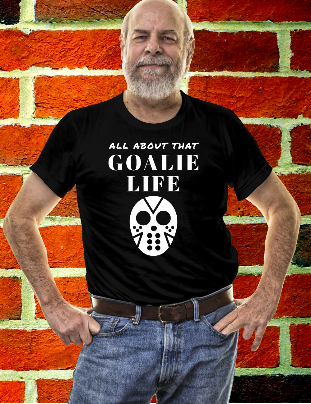 Ice Hockey Goalie ALL ABOUT THAT GOALIE LIFE Tshirt