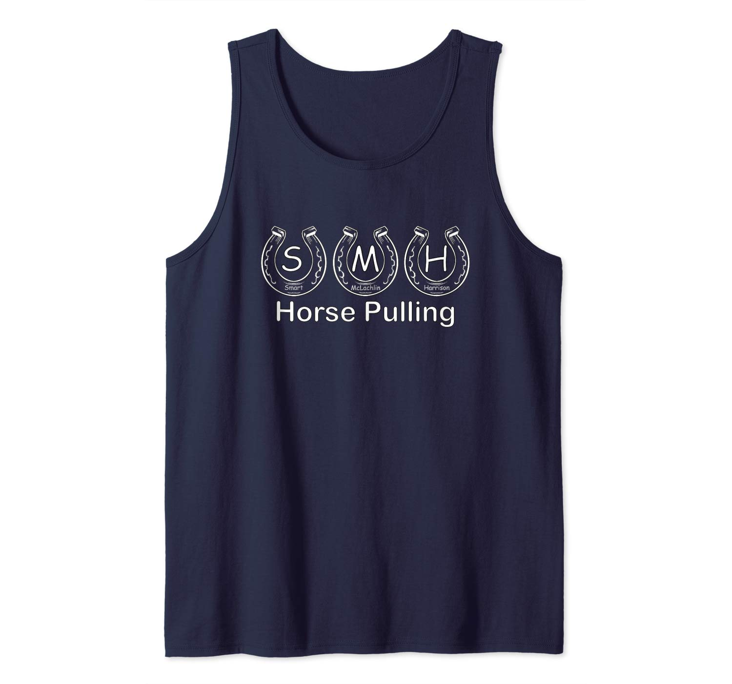 S.M.H. HORSE PULLING Tank Top