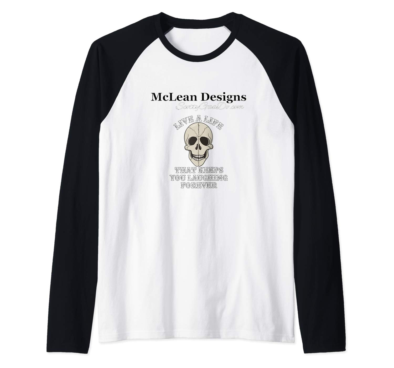 "McLean Designs/ScottyGaaDo.com ""Life a Life"" Baseball T"