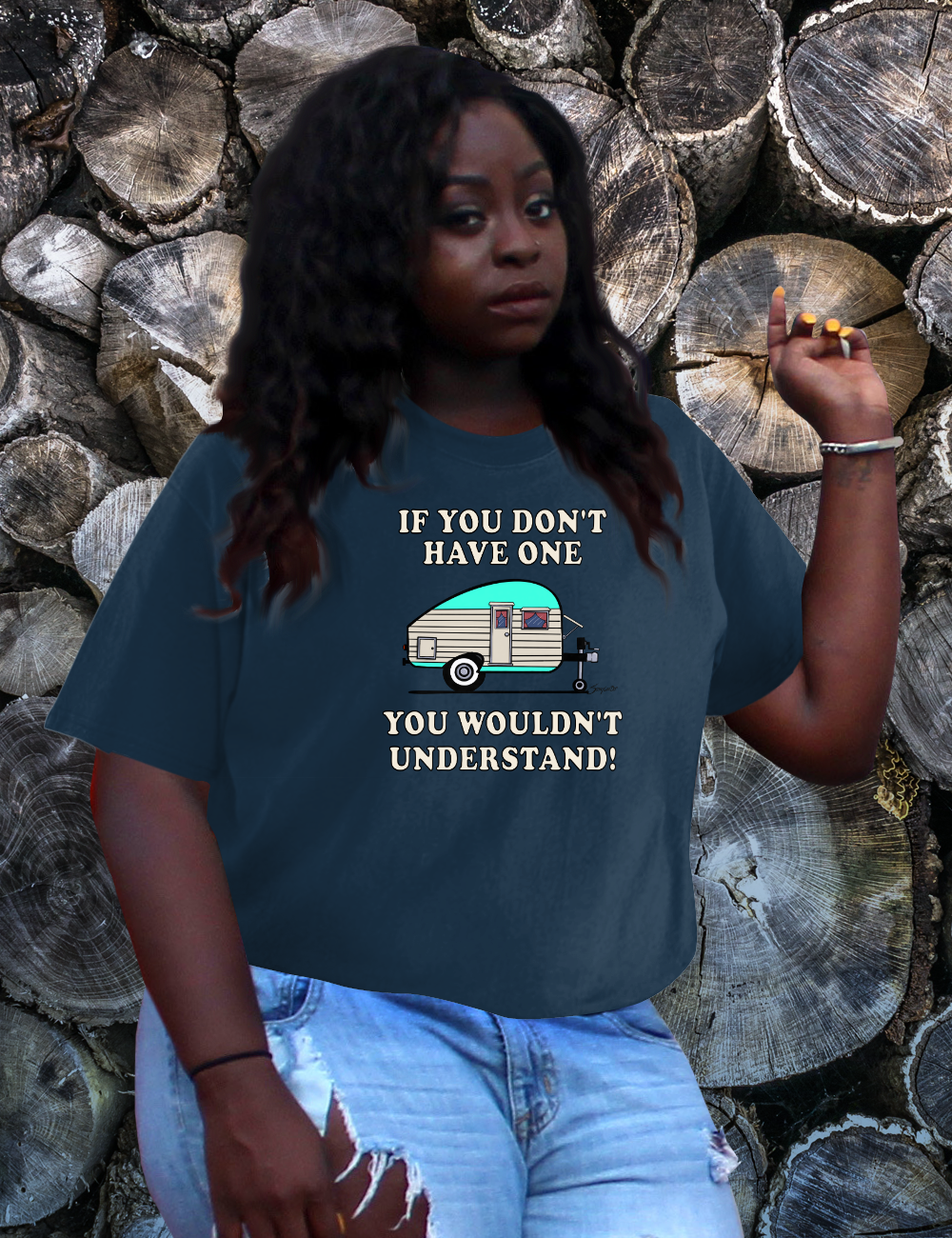 Funny YOU WOULDN'T UNDERSTAND Camping Trailer T-Shirt