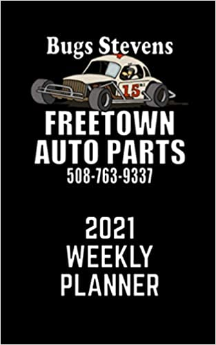 2021 Freetown Auto Parts Weekly Planner