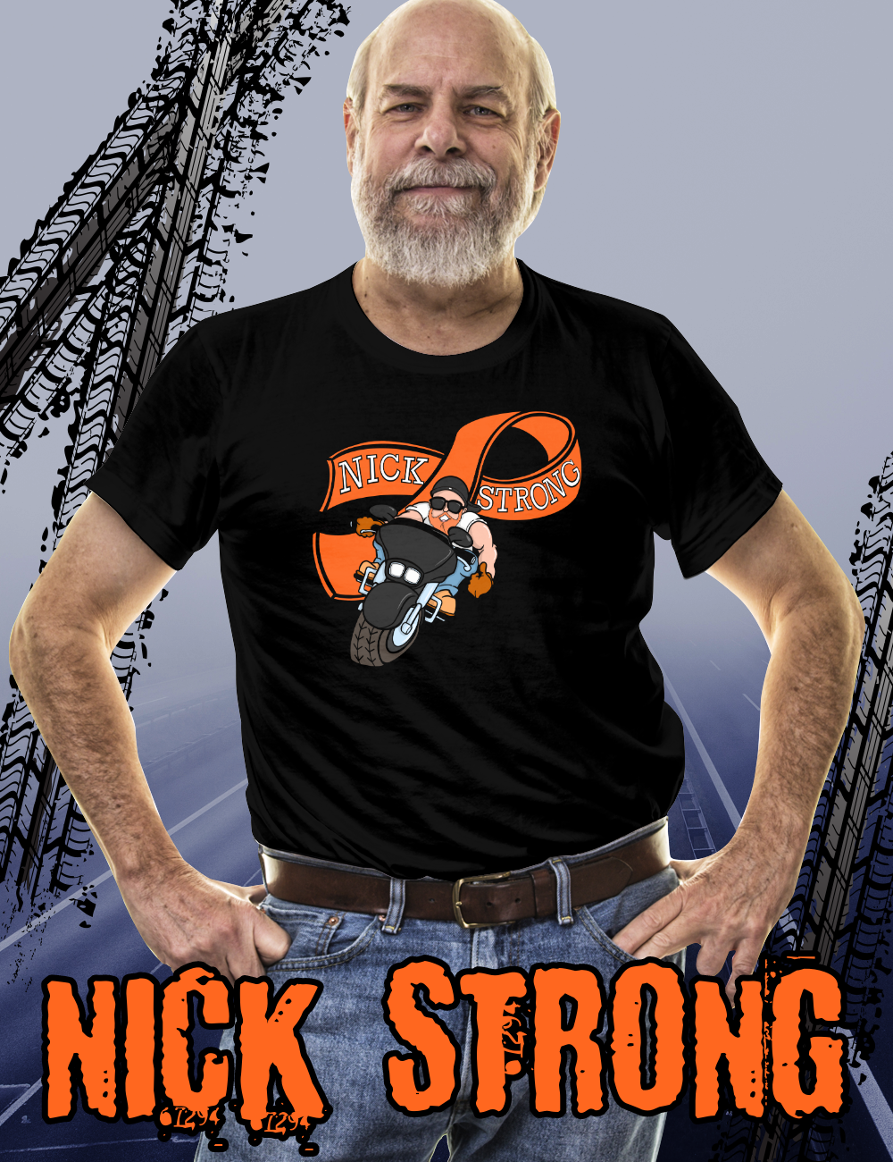 NICK STRONG Requested Larger Sizes – TeePublic T's & Hoodies