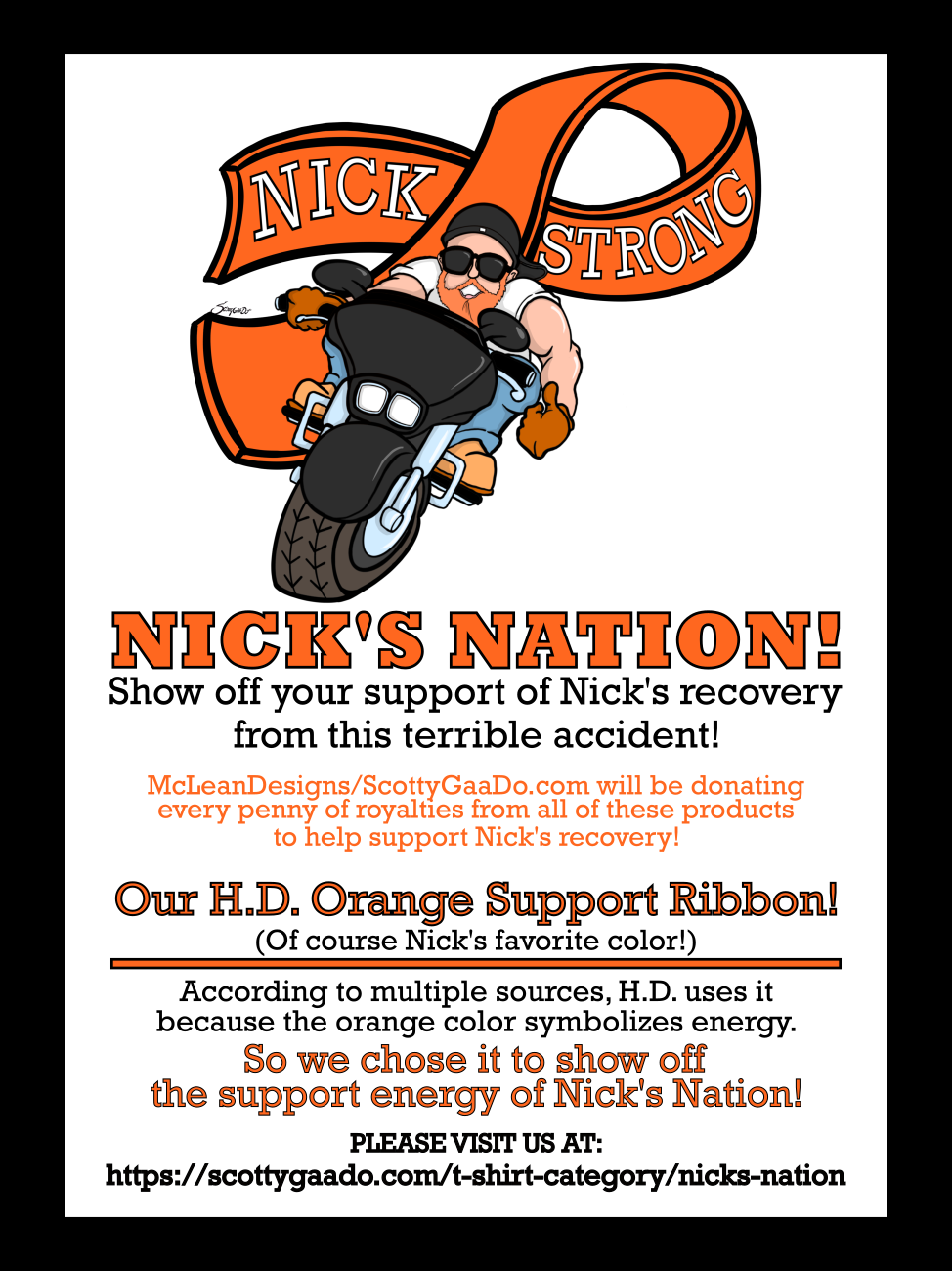 "NICK'S NATION ""NICK STRONG"" Store"