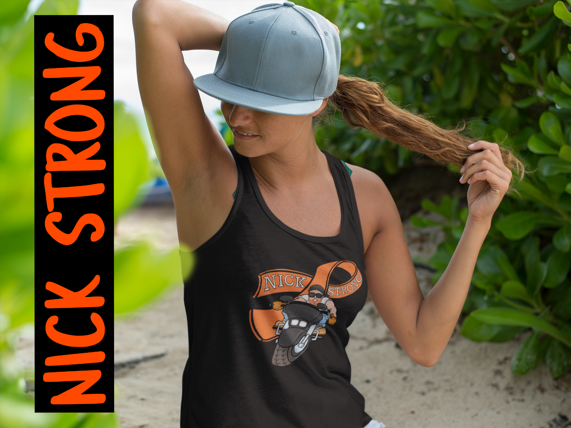 NICK STRONG Tank Tops
