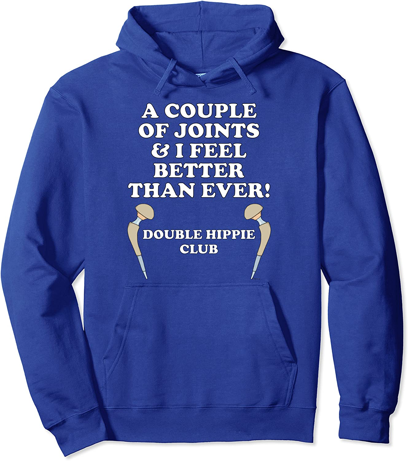 Double Hippie Club COUPLE OF JOINTS Hoodie