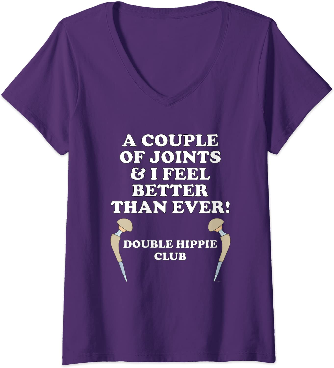 Double Hippie Club COUPLE OF JOINTS V-neck