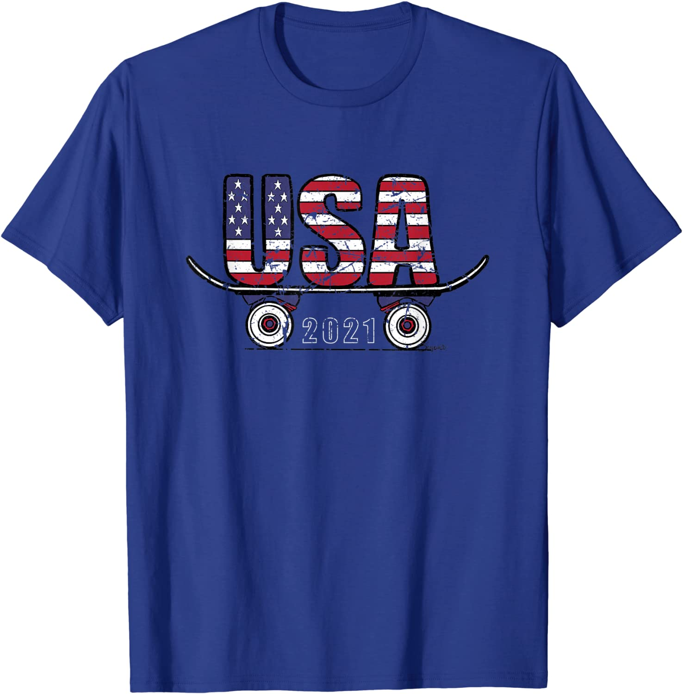 SKATEBOARD USA 2021 T-Shirt